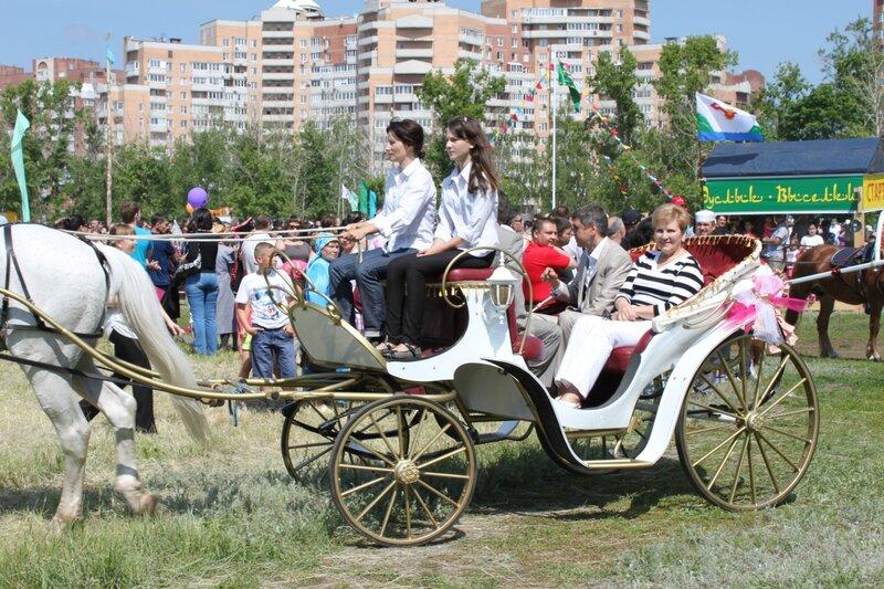 Андреев на сабантуе в Тольятти. 2012