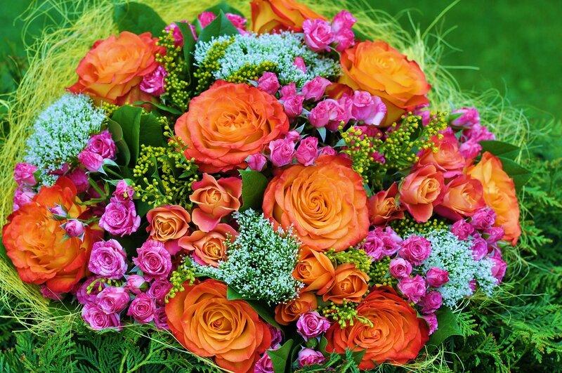 Фото букеты цветов крупным планом