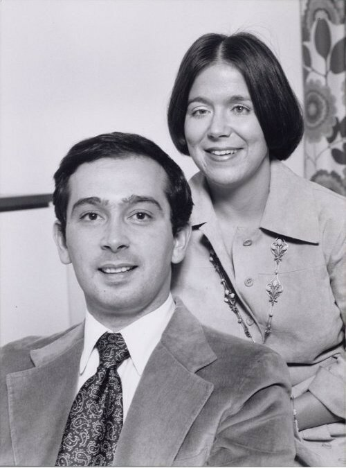 1975. Кристина и Хорхе