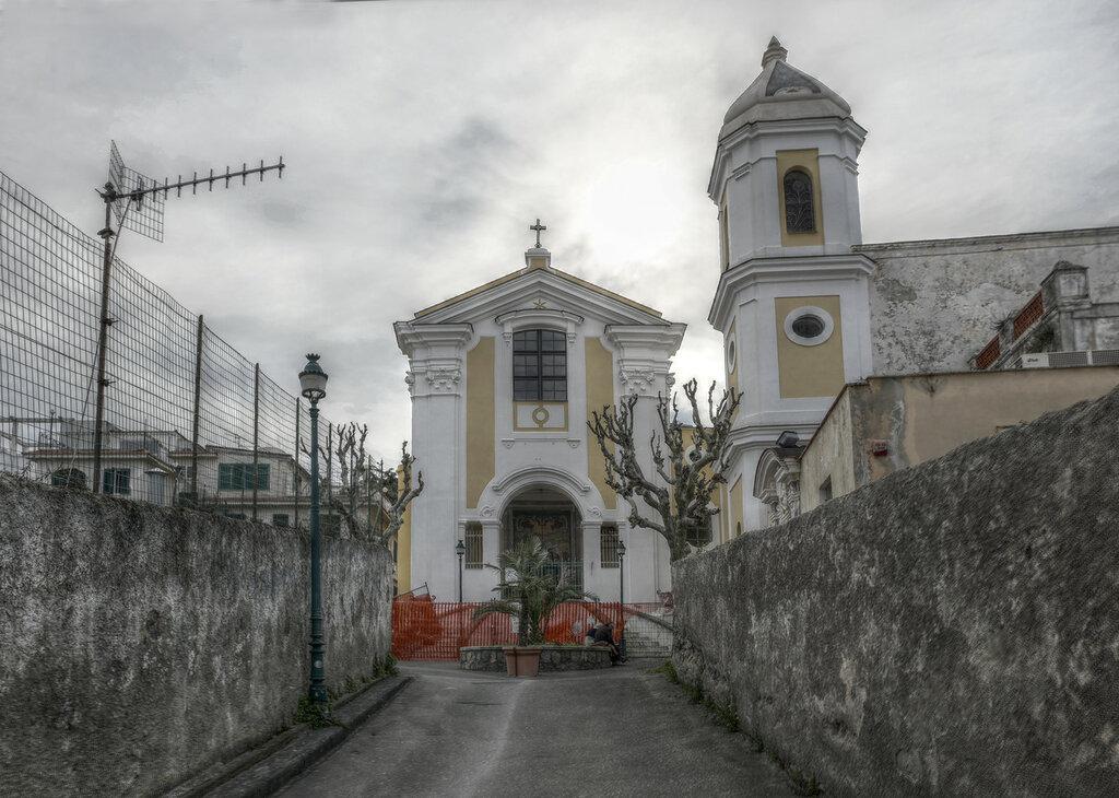 Ischia Porto. The Church of Sant Antonio (Chiesa di Sant'antonio)