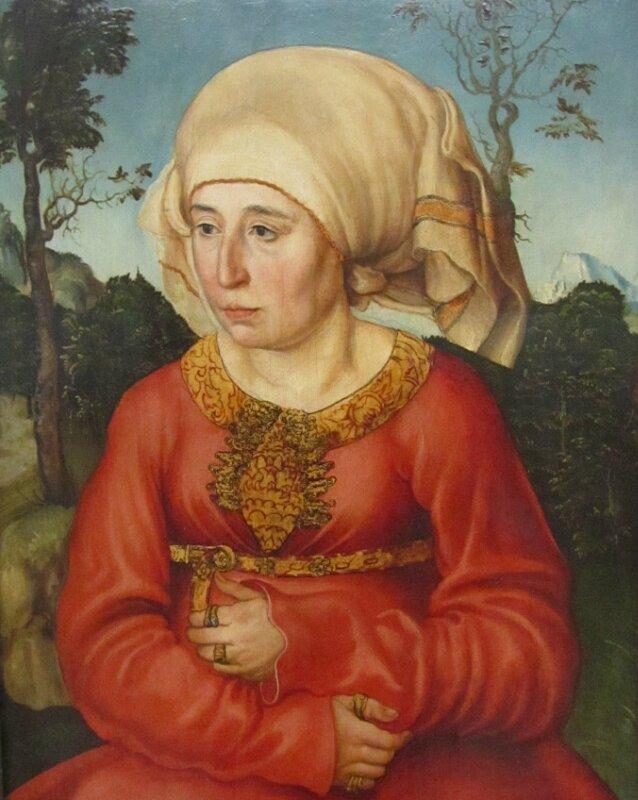 Кранах. Женский портрет
