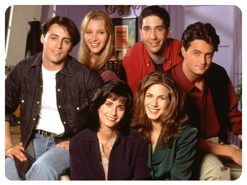 1. Друзья (The Friends), 1994-2004