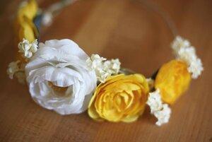 Как сделать венок из цветов