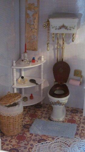 Дом Мечты №35 Угловая полка и коврик для ванной