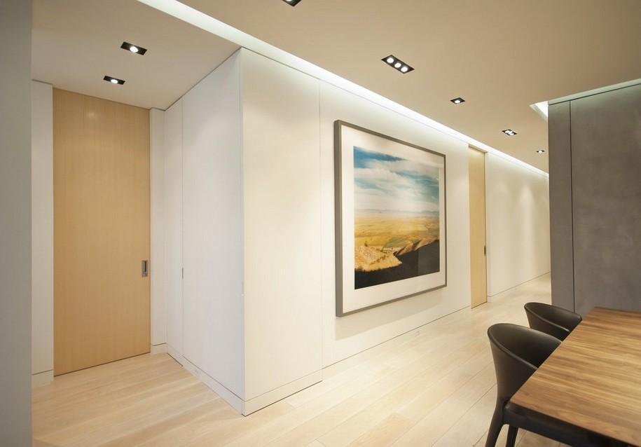 Небольшая квартира в Западном Манхэттене от STUDIOLAB