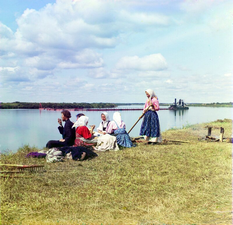 Early 20th-century Russia in Color Photos by Sergey Prokudin-Gorsky.  Educative.