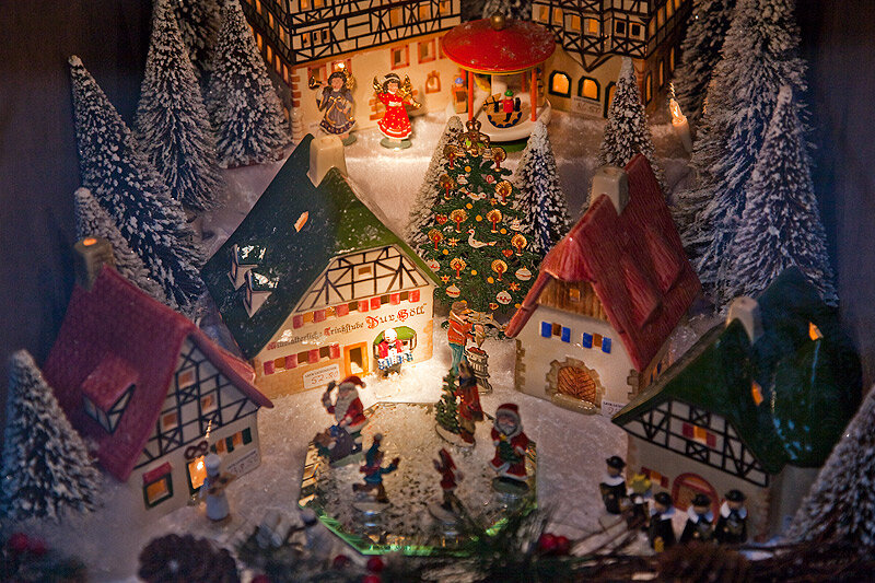 Ротенбург-об-дер-Таубер, средневековый город вечного рождества.