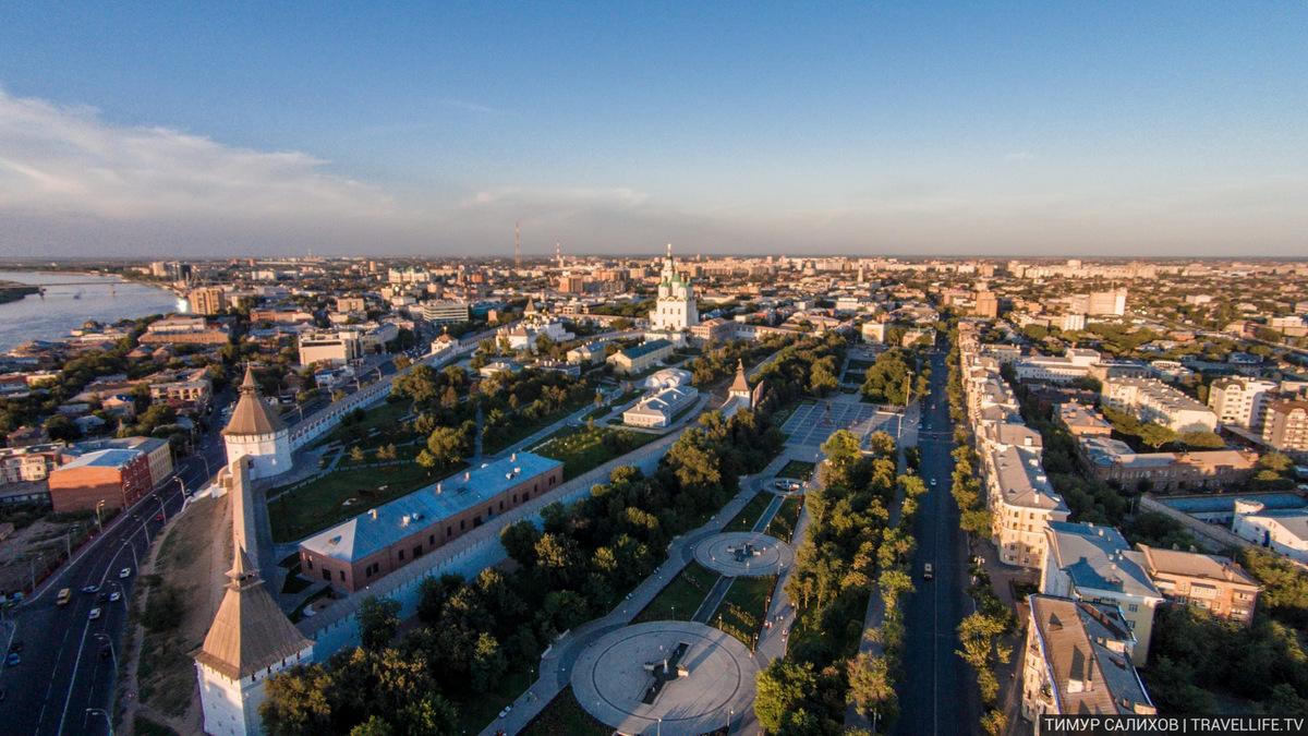 Аэросъемка Астрахани 2
