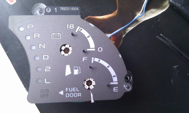 Toyota Sequoia Club - вопрос про оптитронную панель