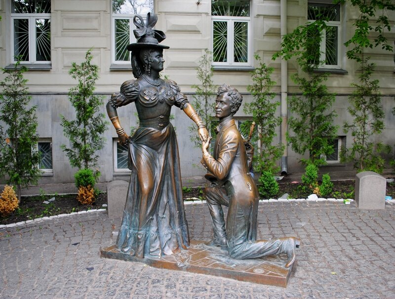 Проня Прокоповна и Свирид Голохвастов