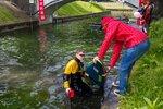 Полоса препятствий — водная преграда (день защиты детей)