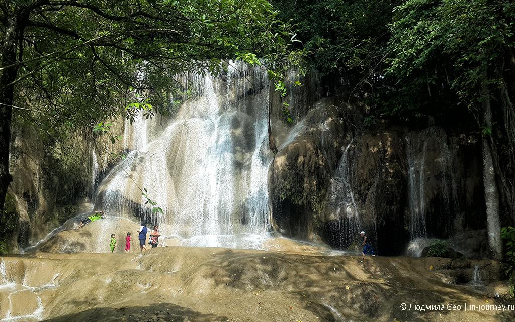 водопад сайок