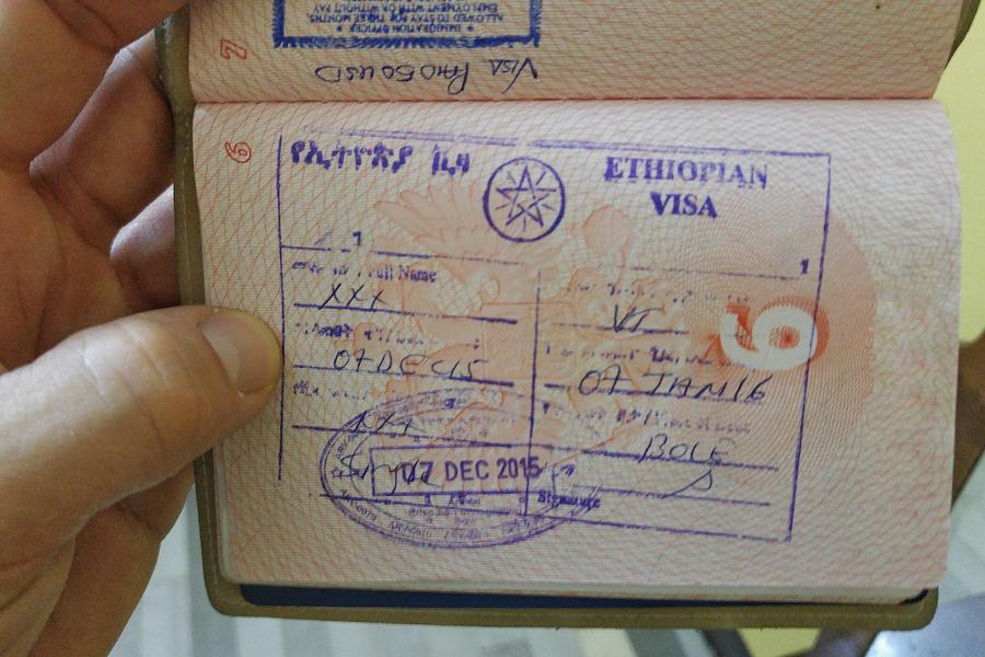 Ethiopian Visa / Виза в Эфиопию