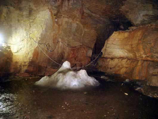 Пещера Трёхглазка на Ай-Петри