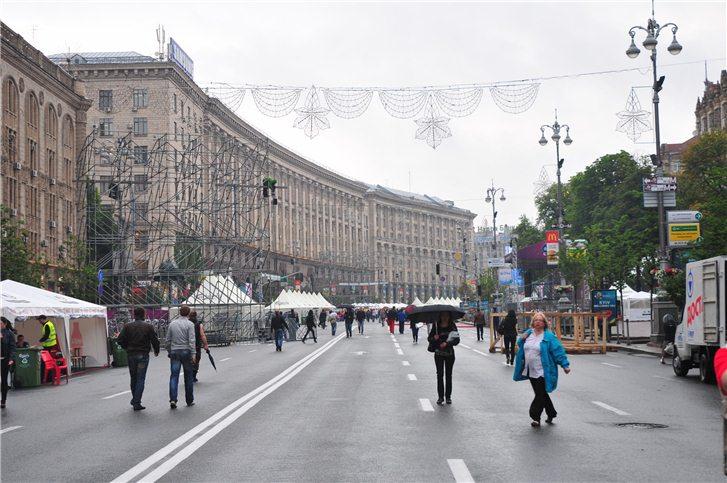 Киевская фан-зона Евро-2012