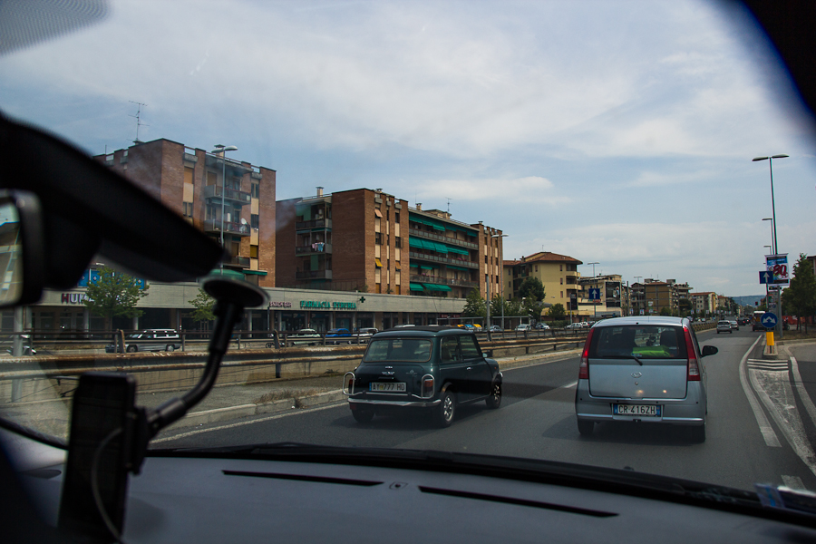 Самостоятельное путешествие на автомобиле по Италии