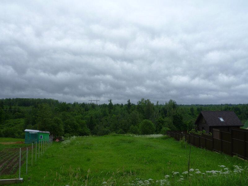 Серый день в деревне Шихово