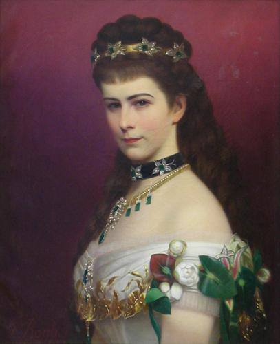 Георг Рааб. Елизавета Баварская, Sisi (1837-1898г.).png