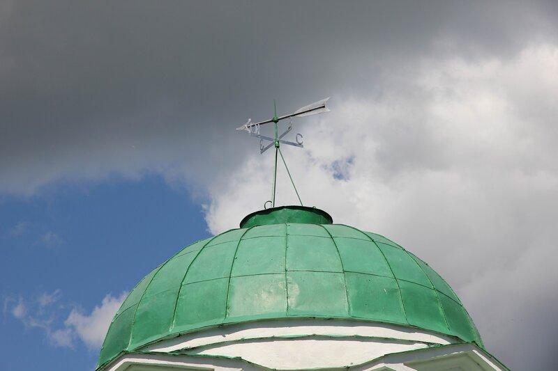 Крестовоздвиженская часовня, купол