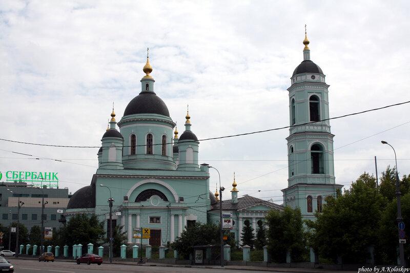 Храм преподобного Сергия Радонежского в Рогожской
