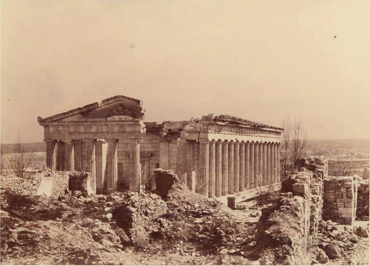 Городские разрушения. 1856