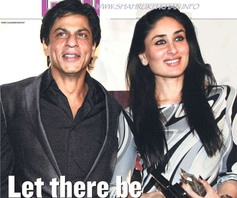 Shahrukh Khan and Kareena