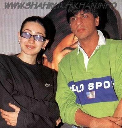 Shah Rukh Khan & Karishma Kapoor