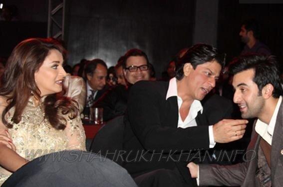 SRK, Madhuri & Ranbir Kapoor