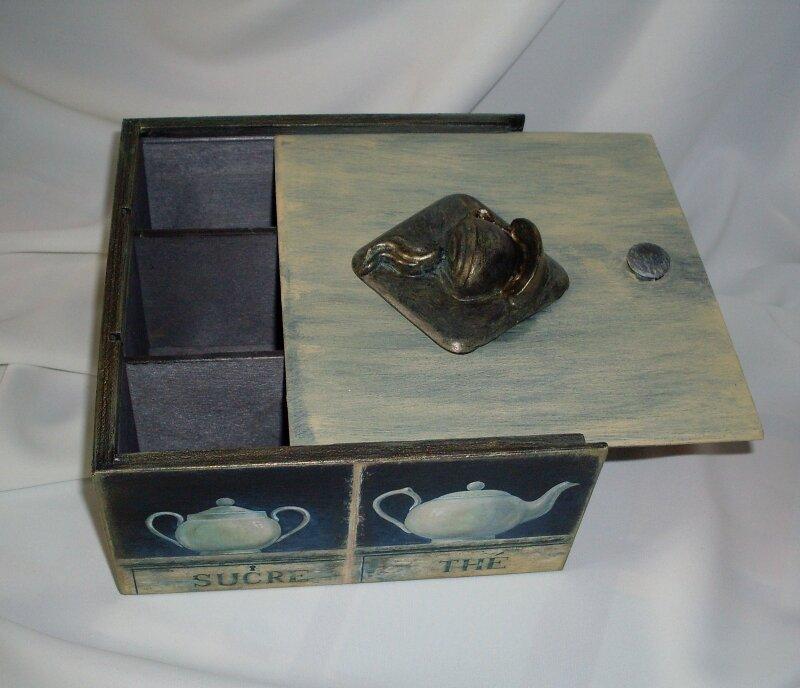 Морилка из чая