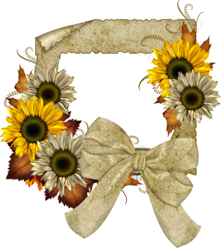 Sunflower Png Images Transparent Background: TOUCHING HEARTS: SUNFLOWER