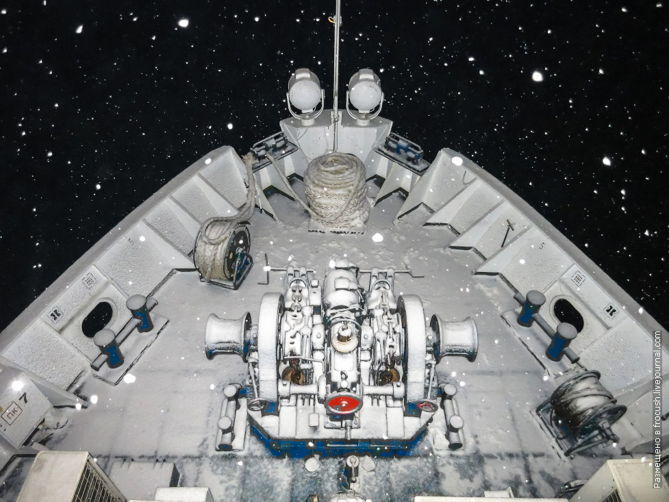 снежный круиз теплоход некрасов фото