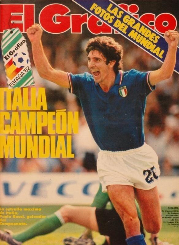 Росси Паоло 1982 год
