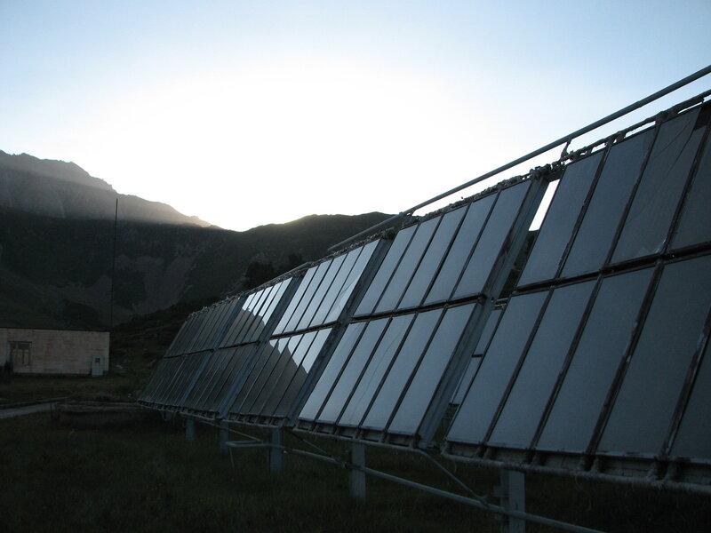 Обсерватория в горах Тянь-Шаня