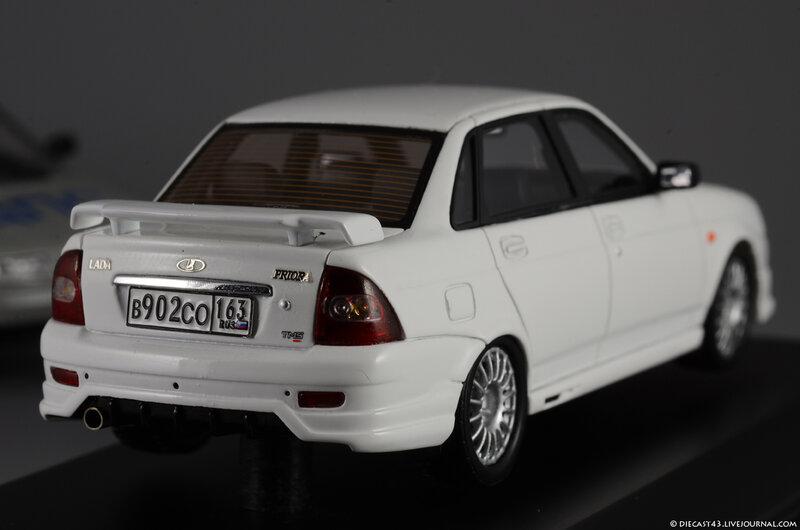 Масштабная модель ВАЗ LADA PRIORA TMS Белый лучшая цена!