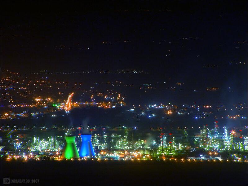 Ночные Крайот, фотография ночных Крайот