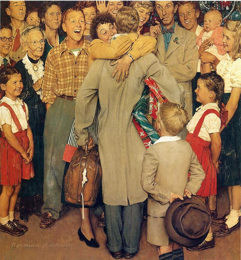 a biography of norman percevel rockwell an american artist Thrill your walls now with a stunning norman rockwell print from the world's largest art  the problem we all live with (or walking to school--schoolgirl with us  a pictorial history of the united states army (or to make men free) by.