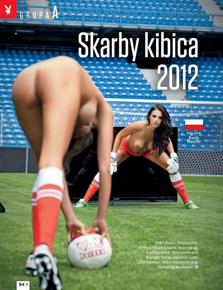 Страны-участницы Евро-2012 в журнале Playboy представляют его модели - Kasia Danysz - Польша / Плейбой Польша, июнь 2012