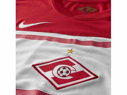 NIKE представил новую игровую форму «Спартака» (Фото)