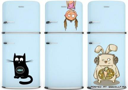 холодильник клипарт: