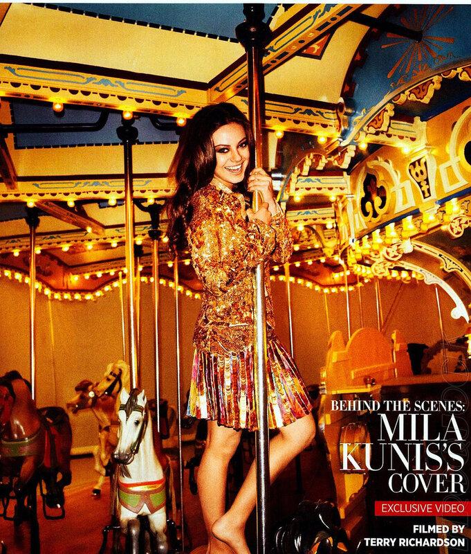 Мила Кунис (Mila Kunis) апрель 2012