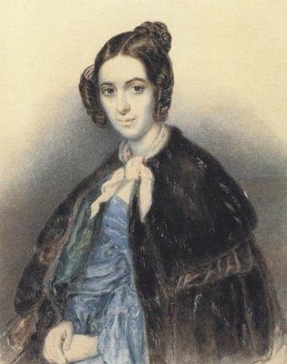 Варвара Николаевна Репнина-Волконская(1809 - 1891) - писательница, фрейлина. автор Тарас Григорьевич Шевченко 1830г.