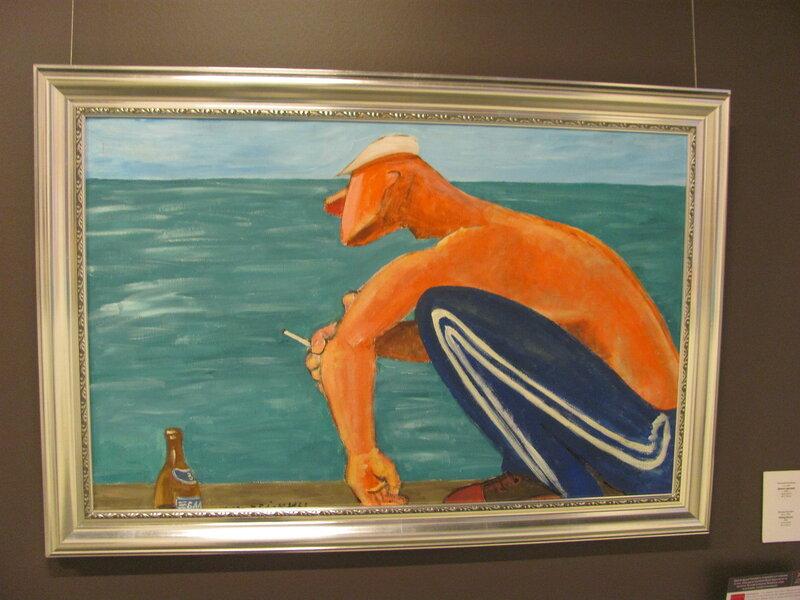 """Николай Копейкин """"Димон сидящий"""", 2005"""