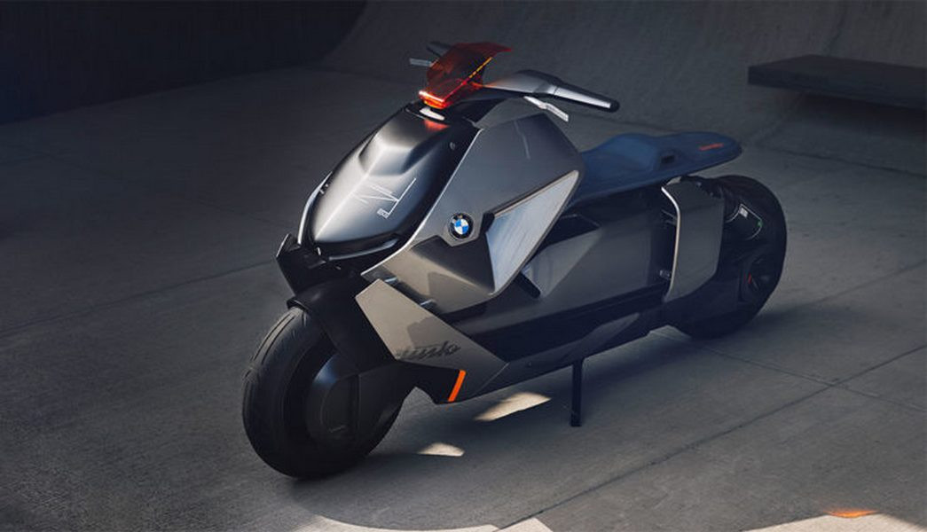 БМВ презентовала городской мотоцикл будущего