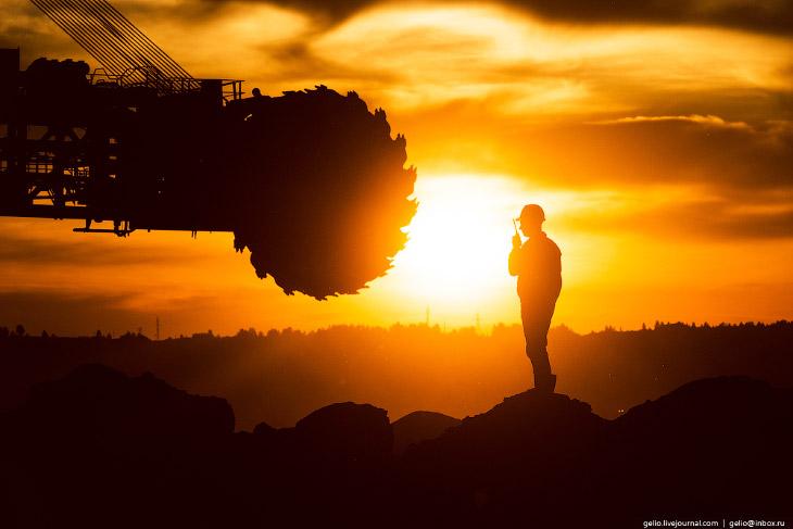 Фотографии и текст Славы Степанова 1. Бородинский разрез находится в 7 км от города Бородино Красноя