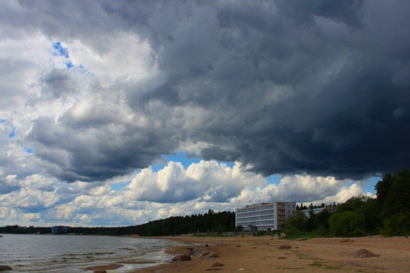 Тучи над Финским заливом