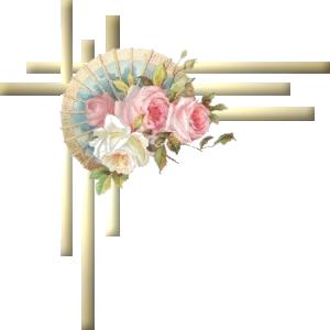 【免抠PNG素材篇】PNG唯美的边角素材 - 浪漫人生 - .