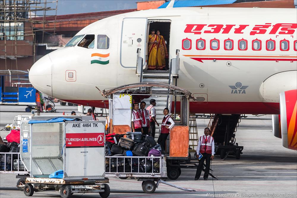 В аэропорту Непала