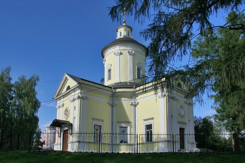 Усадьба Марфино, Церковь Рождества Пресвятой Богородицы