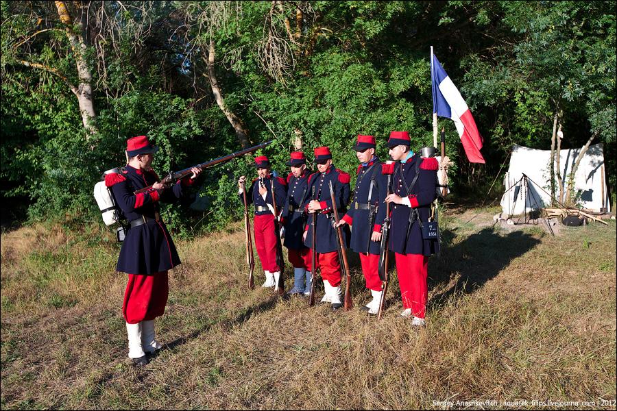 Французы и зуавы