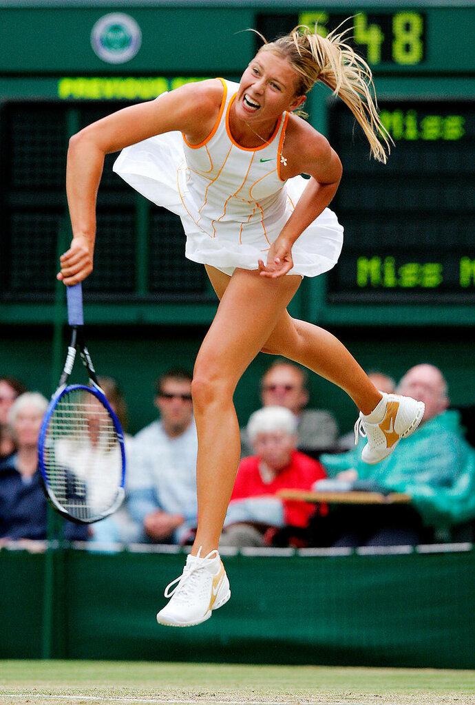 Maria Sharapova of Russia 2005